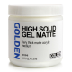 GEL PARA ACRÍLICO HIGH SOLID  MATTE 473ML GOLDEN