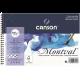 BLOCO MONTVAL ESPIRAL 12 FLS 13,5X21 CANSON