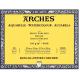 BLOCO ARCHES GRANA GROSSA 300G 23X31 1795080 20 FOLHAS