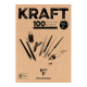 BLOCO PAPEL KRAFT 90G